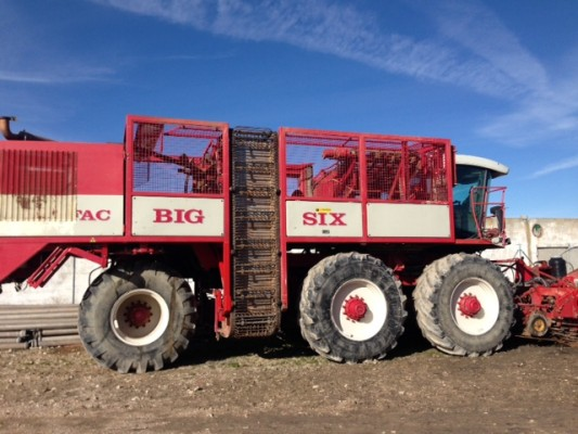 Agrifac Big Six vs. Solex